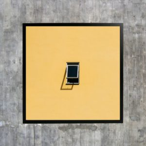 «Ananas», et bilde solgt på Sukker i Trondheim i størrelsen 30x30 cm.