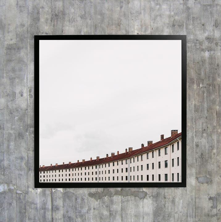 «Arched» - 30x30 cm, 50x50 cm, 70x70 cm