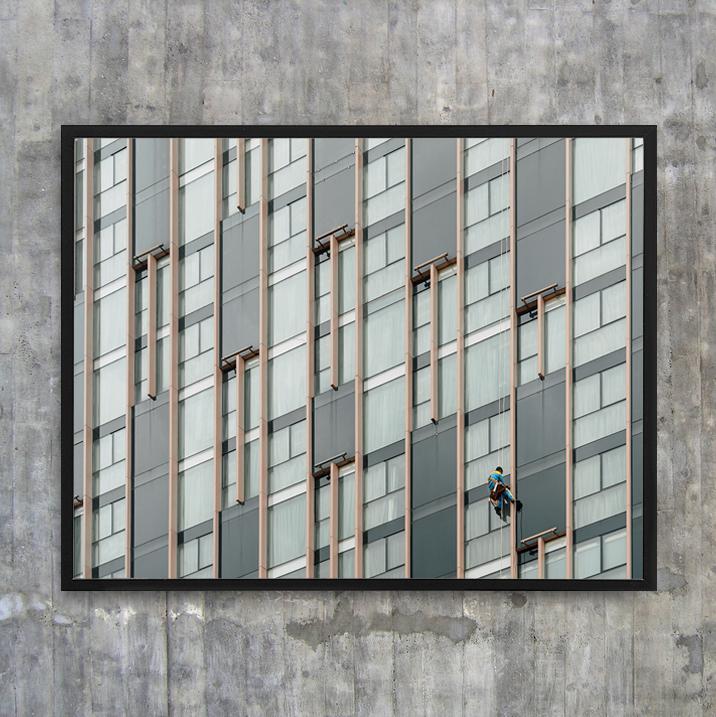 «Cliffhanger» - 50x40