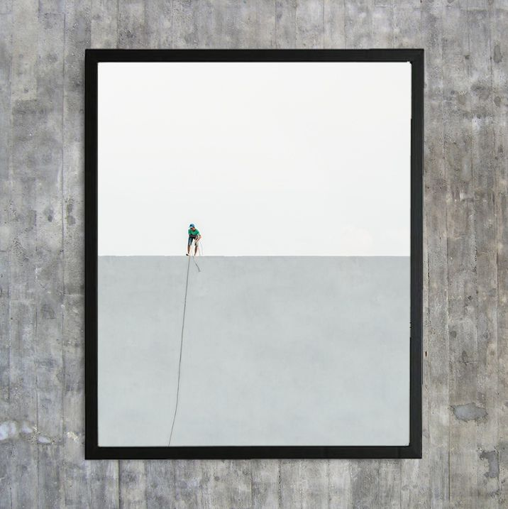 «Fishing for compliments» – 40x50 cm