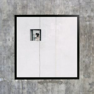 «Paint job», et bilde solgt på Sukker i Trondheim i størrelsen 30x30 cm.