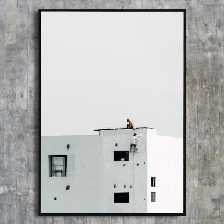 «Paint the town» - 70x100 cm